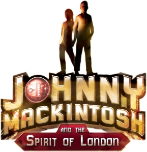 Johnny Mackintosh and the Spirit of London front cover logo