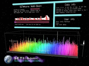 Johnny\'s Seti screensaver