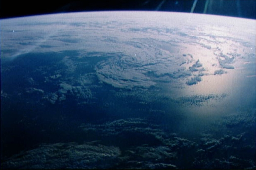 The view of Earth from space, courtesy of NASA Johnson Space Center (NASA-JSC)