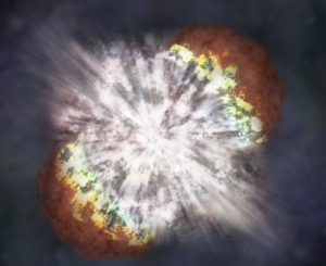 Supernova image SN2006gy